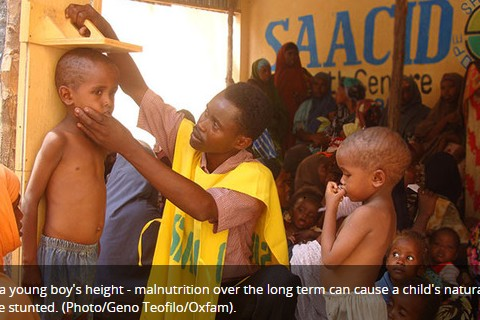 When 50% of Burundians,Eryteans,Malagasiers and Rwandese will be shortest people inAfrica