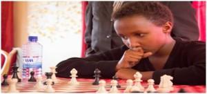 Kids chess play