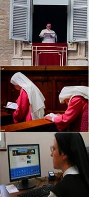 Si le Pape François  interdisait l'internet auxreligieuses?