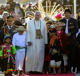 Le Pape François et les autochtones