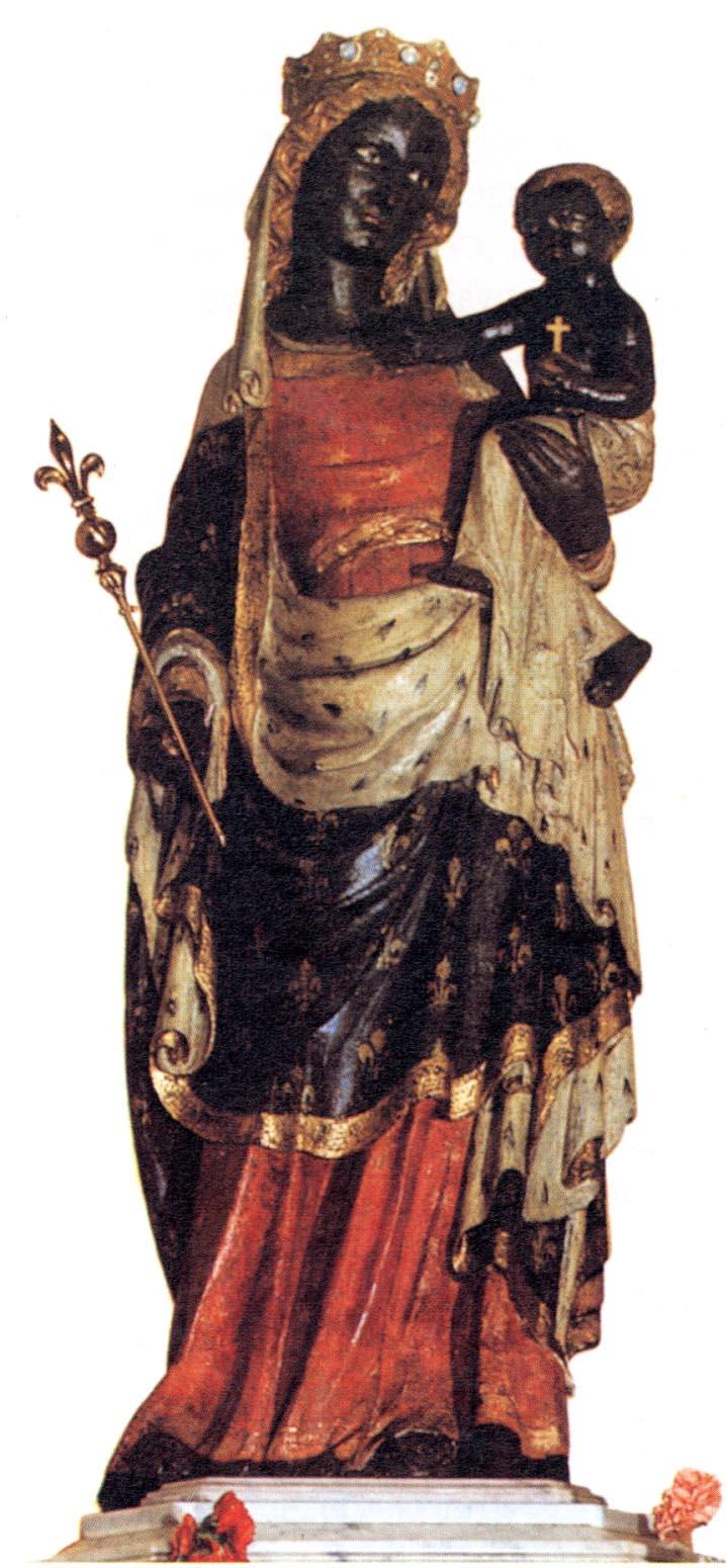 Vierge Noire étoilée, Patronne de l'Afrique?
