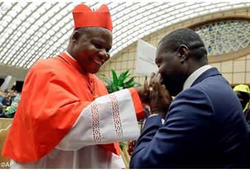 Le jeune Cardinal,signe de la miséricorde enCentrafrique