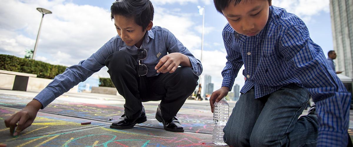 20 novembre:journée mondiale del'enfance