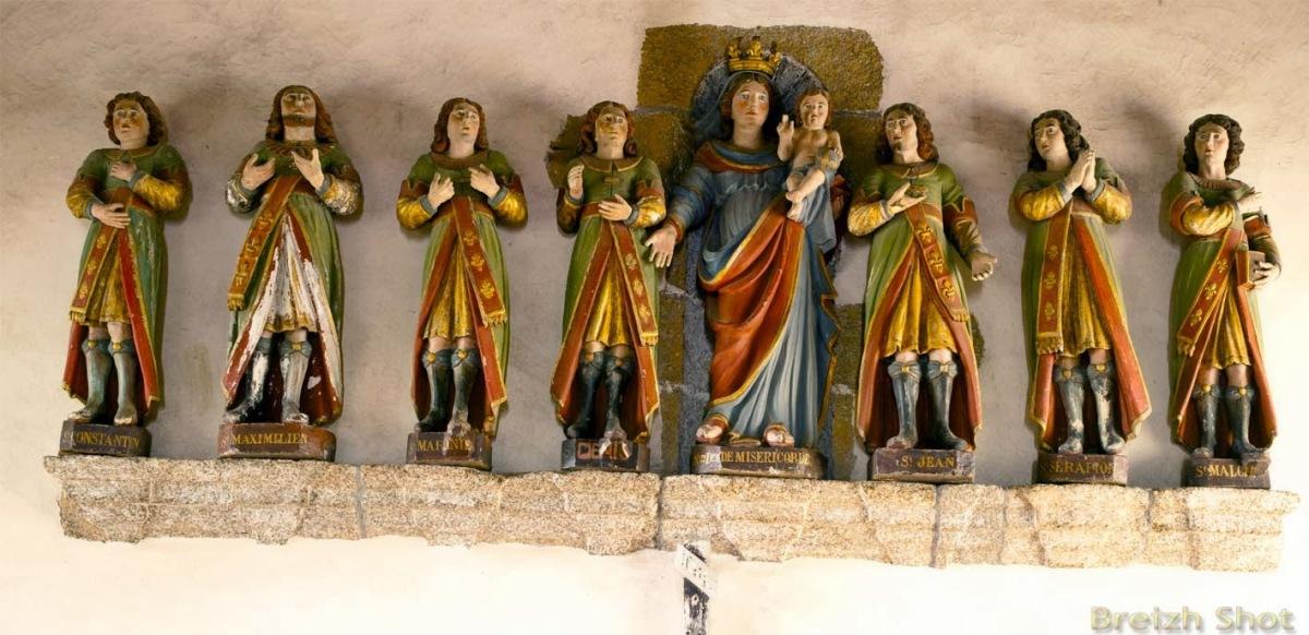 Les Saints enBretagne
