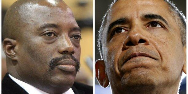 RDC: Kabila savonne Obama et tend la main àTrump