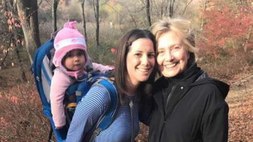 Hilary Clinton dans lemaquis