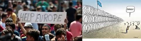 Europe 2017: les réfugiés sont nos frères etsœurs!