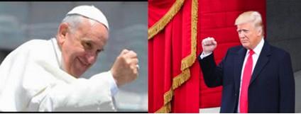 Quand le Pape Fançois écrit au businessman-président DonaldTrump