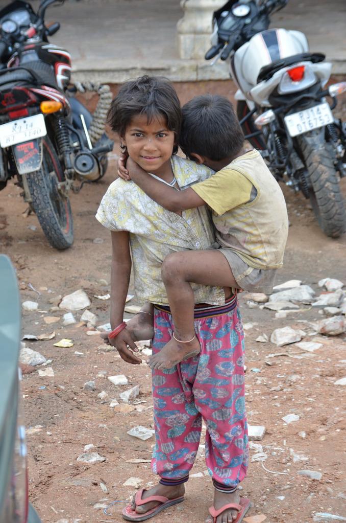 La pauvreté en Inde:les enfants sont les premièresvictimes