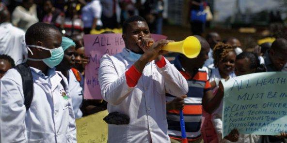 Kenya:en grève,les médecins sont remplacés par les militaires et lesétrangers