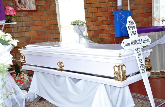 Turacyabaza iby'urupfu rwa Padiri EvaristeNambaje