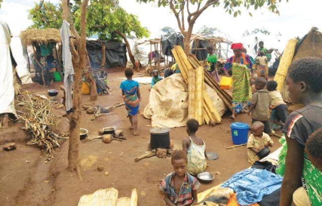 Frappé par le cyclone Dineo,le Mozambique n'a pas où loger les plusfaibles