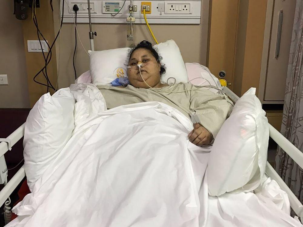 La femme la plus lourde du monde estégyptienne