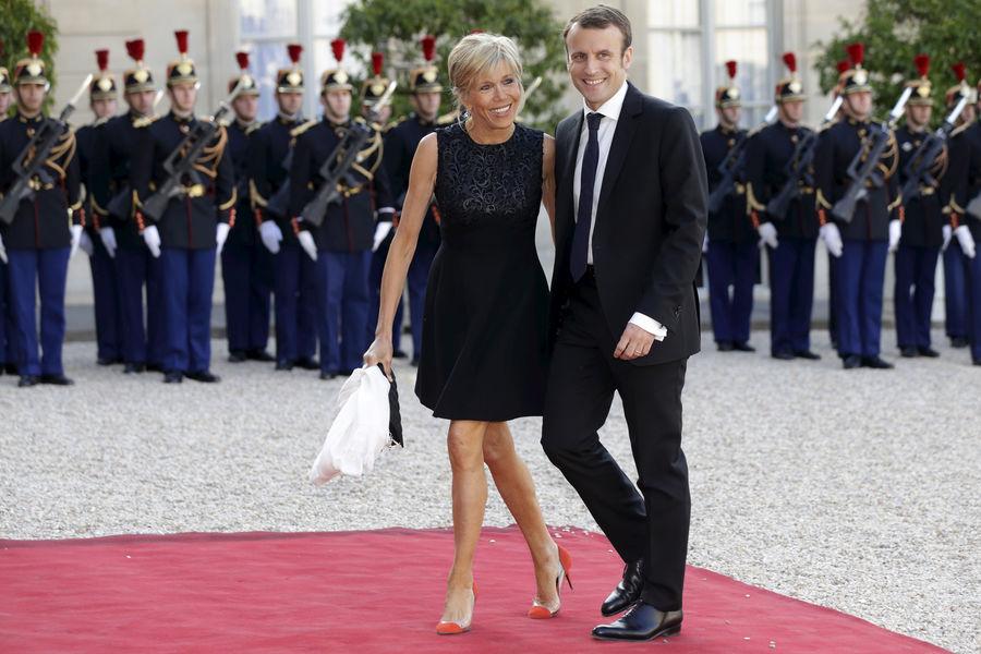 Macron-Brigitte,un couple présidentielhors-norme
