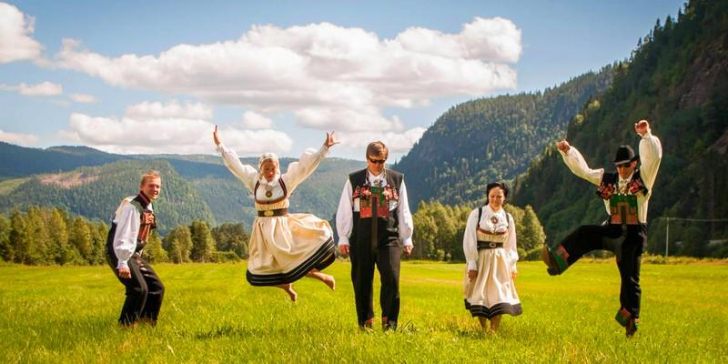 Journée de la vie au Norvège