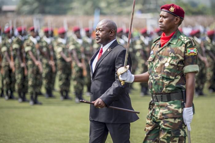 Président Nkurunziza Du Burundi