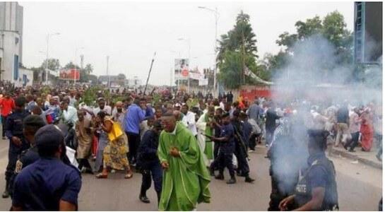 Kinshasa-Eglise catholique: Tous armés contre la paix et ladémocratie