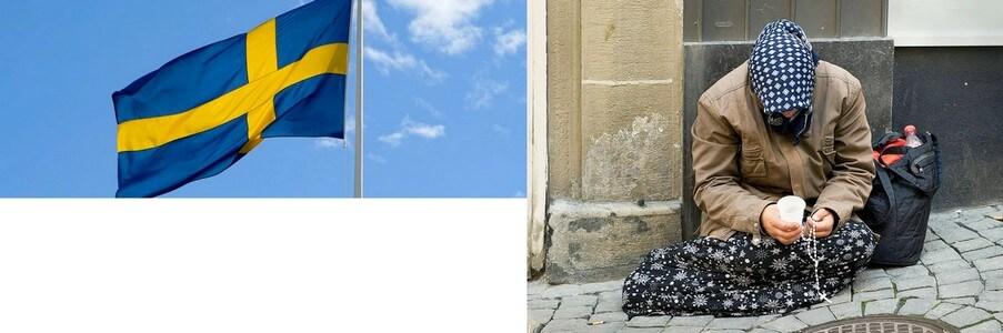 Suède:pour mendier, il faudra unpermis!