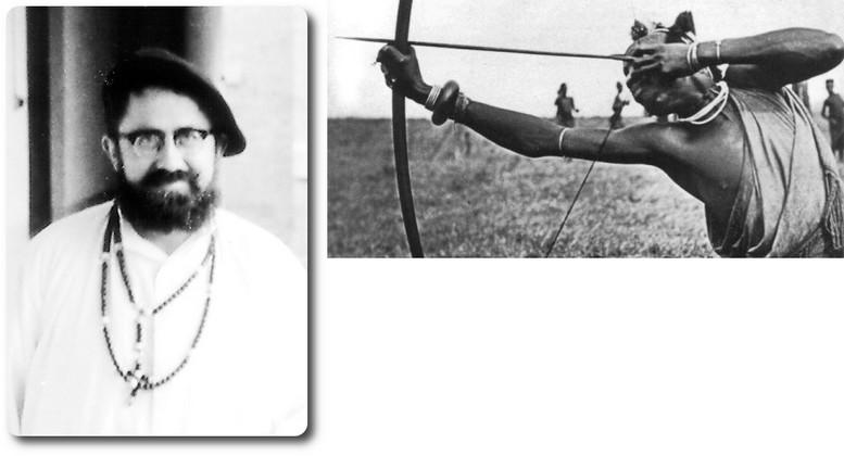 Le 1 avril 1910: Le Père Paulin LOUPIAS a reçu un coup de lance dans saMission