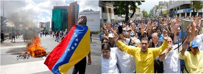 Venezuela: faim et crises permanentes semêlent!