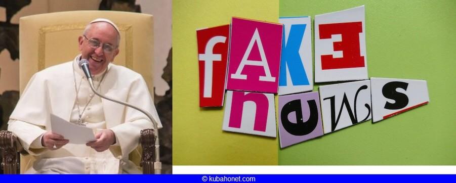 Journée mondiale des  Communications Sociales: quelle nouvelle des fausses nouvelles ou Fake News dansl'Eglise?