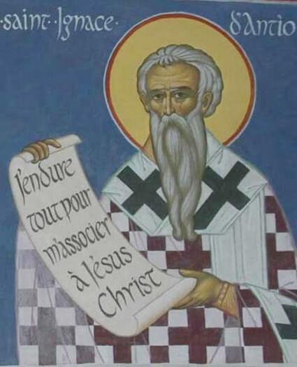 Parole de Saint Ignace d'Antioche