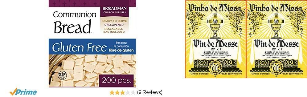 Vin et pain eucharistiques auxsupermarchés?