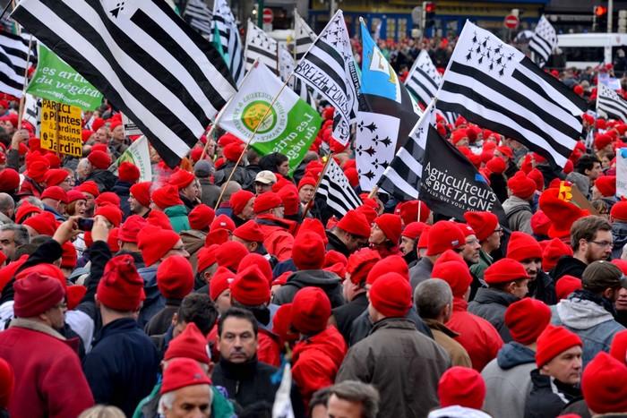 Bonnet rouge des Bretons