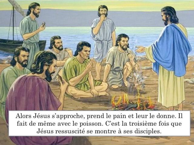 Méditation du Troisième dimanche de Pâques: «Les enfants,auriez-vous quelque chose à manger?»