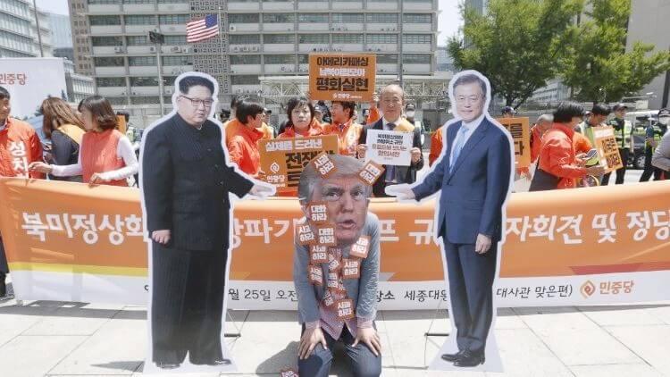 Les deux Corées unis contre les États-Unis: le piège deTrump