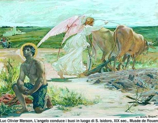 Saint Isidore le Laboureur,amour du travail et de laprière