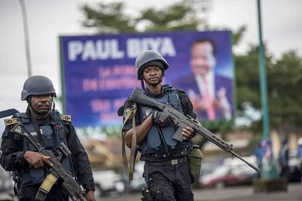 Les militaires au service de Biya?