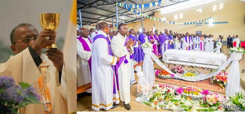 16 mars: Derniers hommages en odeur de sainteté pour Mgr Jean Damascène BIMENYIMANA