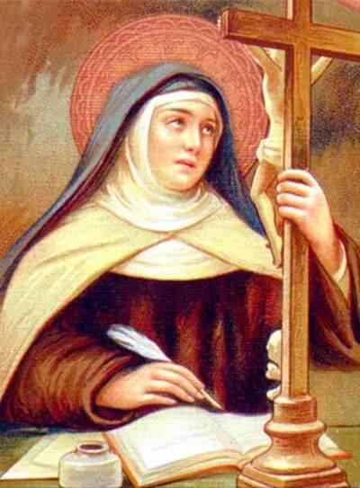 Umutagatifu w'umunsi: Sainte Thérèsed'Avila