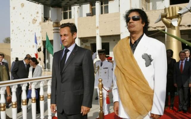 France-Libye: Les revenants de Kadhafi à l'attaque deSarkozy