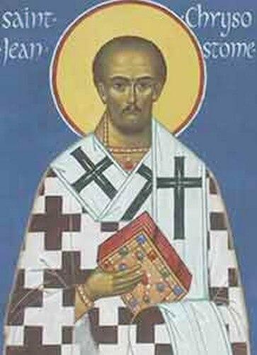 Les cinq très belles citations de Saint JeanChrysostome