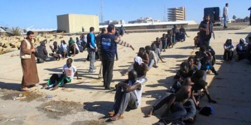 Libye:ces Africains condamnés à l'esclavage humanitaire