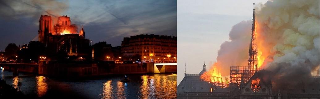 Drame à Paris: Cathédrale Notre-Dame en flammes pendant la SemaineSainte?