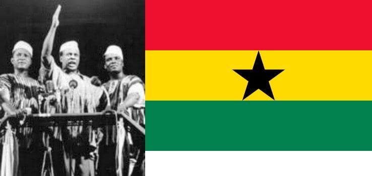 6 mars: la marche de l'indépendance duGhana