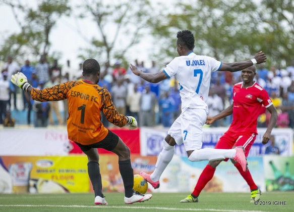 Rayon Sport yaroshye Espoir FC muriRusizi!