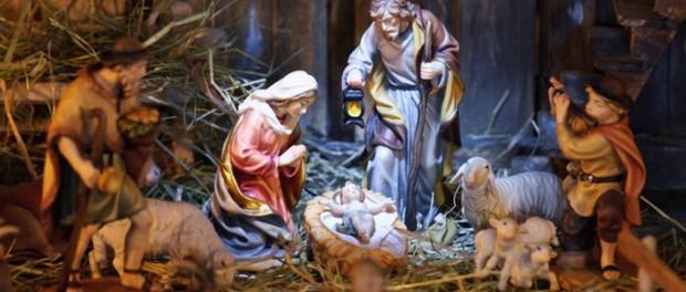 Jésus dans la crèche