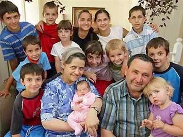 Ses 18 enfants