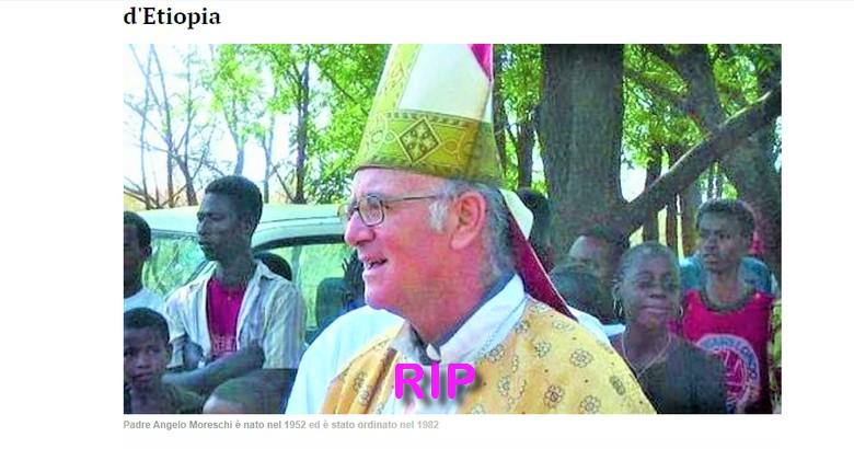 Le premier évêque mort deCoronavirus
