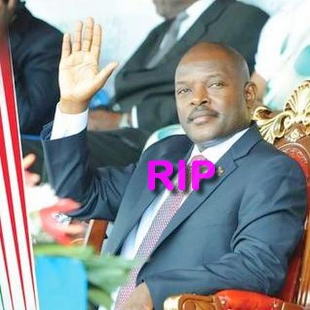 BURUNDI: Mort inopinée du président Pierre Nkurunziza?