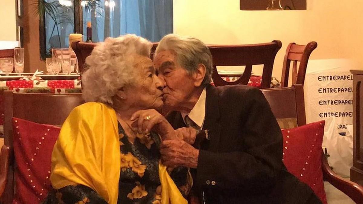 Le couple marié le plus âgé au monde!