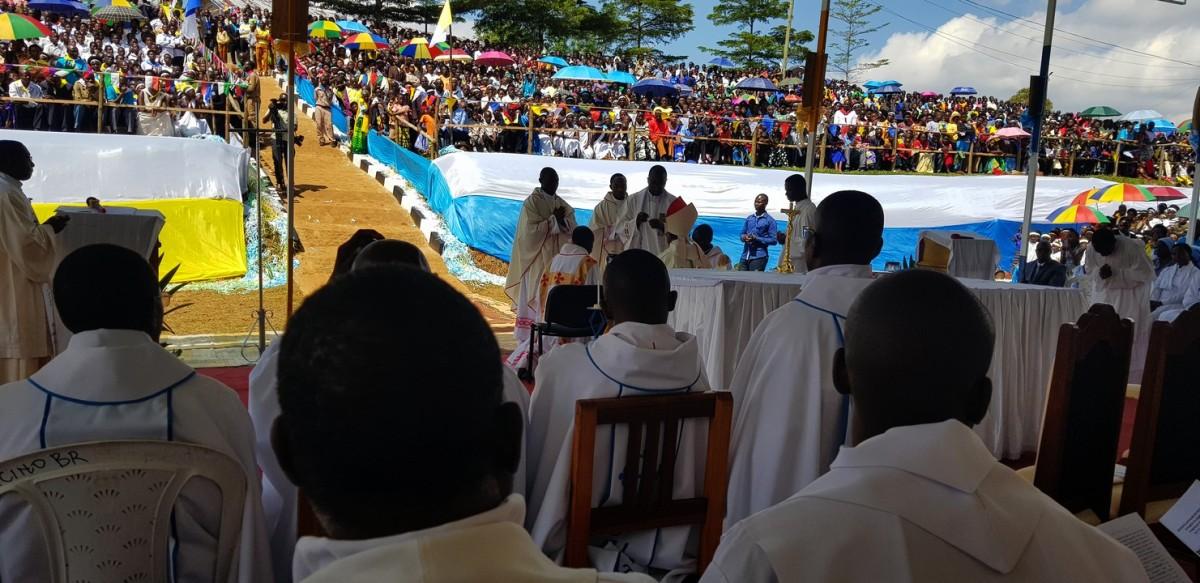 La messe vécue auRwanda