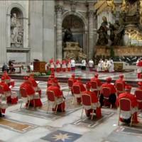 Consistoire du 28 novembre 2020 pour la création des 13 nouveaux cardinaux