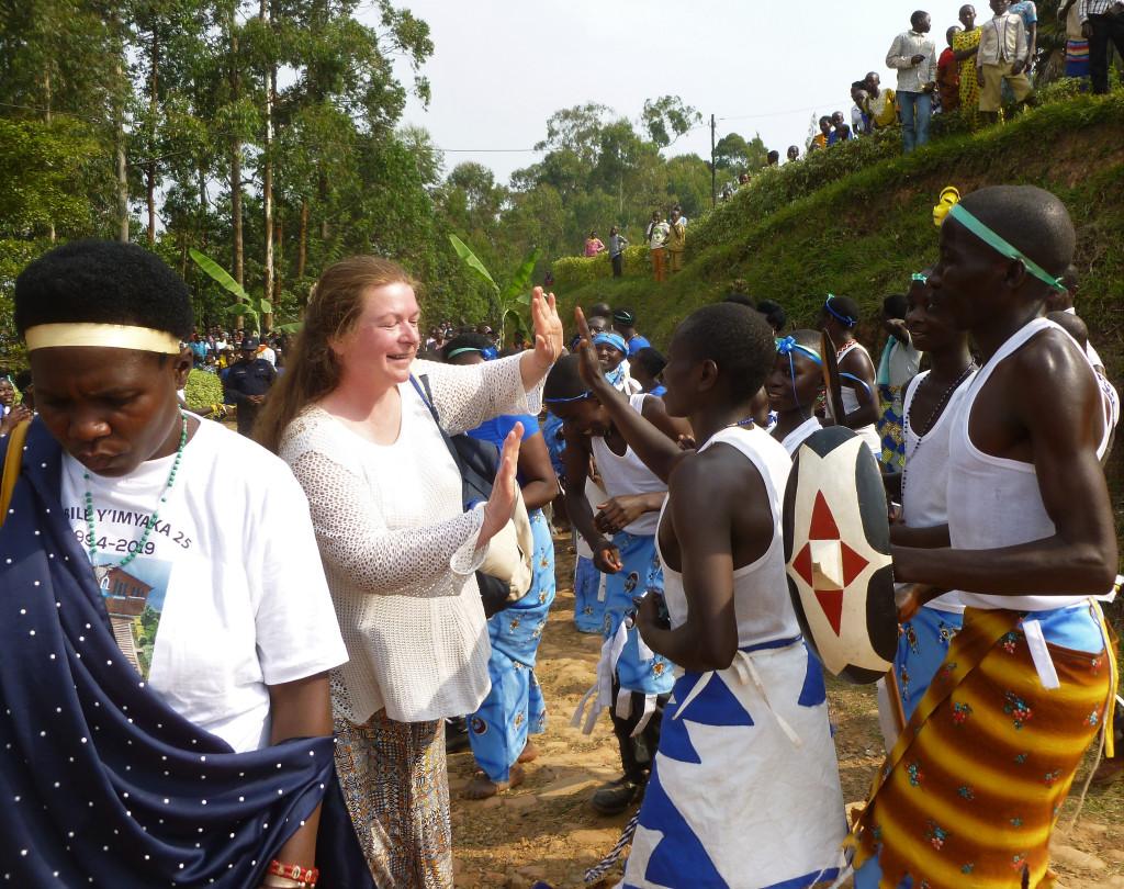 Quels moments vécus au Rwanda!