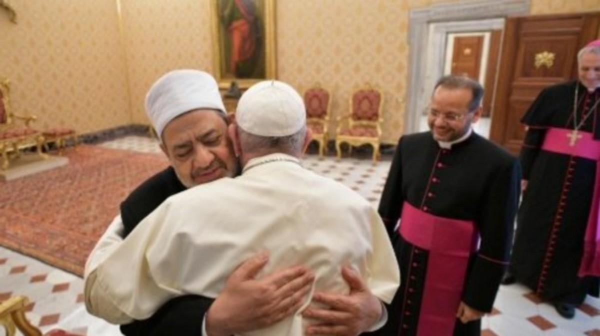Fratelli tutti: Le Pape inspiré par le GrandImam