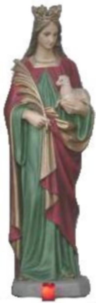 Statue de Sainte Agnès
